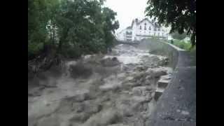 Luz-Saint-Sauveur France  city photos : Floods in Luz Saint Sauveur - France