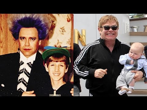 Elton John - Transformation From 1 to 71 years old