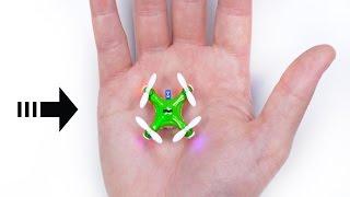 Video The World's Smallest Drone! MP3, 3GP, MP4, WEBM, AVI, FLV Desember 2017
