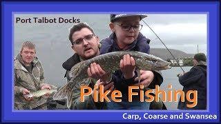 Pike Fishing - Port Talbot Docks. Carp, Coarse and Swansea Video 148