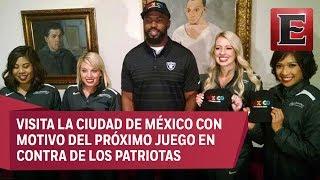 Jelani Jenkins, linebacker de los Raiders de Oakland, visitó la exposición de Diego Rivera y Pablo Picasso, que se encuentra en el Palacio de Bellas Artes en la Ciudad de México.20 julio de 2017 COMENTA ESTE VIDEO Y COMPARTELO CON TUS AMIGOSPara más información entra: http://www.youtube.com/excelsiortvNo olvides dejarnos tus comentarios y visitarnos enFacebook: https://www.facebook.com/ExcelsiorMexTwitter: https://twitter.com/Excelsior_MexSitio: http://www.excelsior.com.mx/tvSuscríbete a nuestro canal: https://www.youtube.com/channel/UClqo4ZAAZ01HQdCTlovCgkA