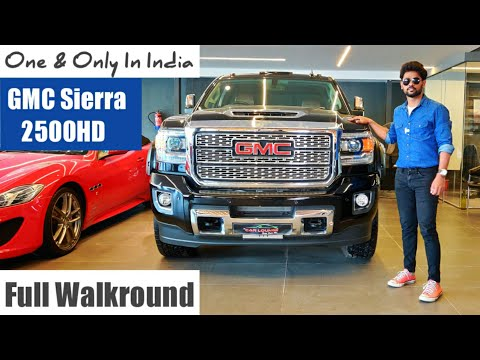 GMC Sierra 2500HD Denali ONE and only in INDIA