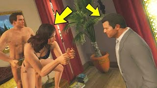 CAN YOU CATCH AMANDA CHEATING WITH THE TENNIS COACH? IN GTA 5 (Gta 5 Story Mode Mods)