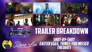 AVENGERS: ENDGAME - Trailer 2 Breakdown, Easter Eggs, Everything Missed Explained