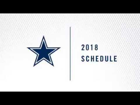 Dallas Cowboys 2018 - 19 Season Schedule