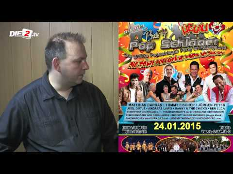 Interview mit Andre Kusch bei der Germany-Stream Party