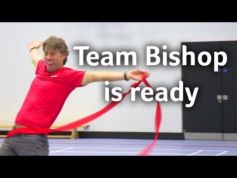 John Bishop prepares for Clash of the Titans