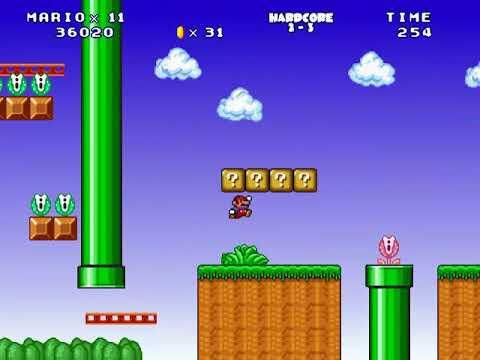 Mario Forever: Hardcore Distopia - Hardcore World 2 [GAMEPLAY] (видео)