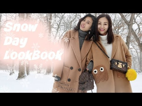 Winter❄️ LookBook|零下二十度|冬季穿搭|要美还是要命??|小朋友们不要学!|😂😂 видео