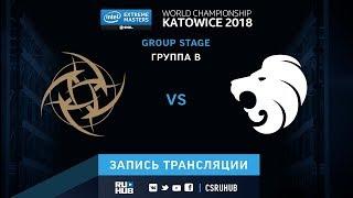 NiP vs North - IEM Katowice 2018 - de_inferno [ceh9, yXo]
