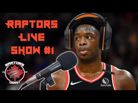 Raptors Free Agents, Trades, and MORE - LIVE SHOW Episode 1