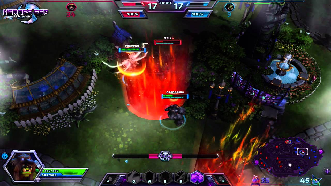 Heroes Of The Storm : Reghar