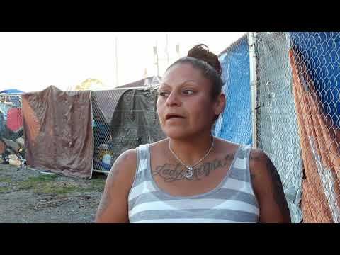 Nowhere to go: interviews at Tent City, Roseland, Santa Rosa, CA