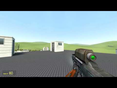 Garry's Mod TFA Base - Scoped weapons - HL2 OICW Beta example.
