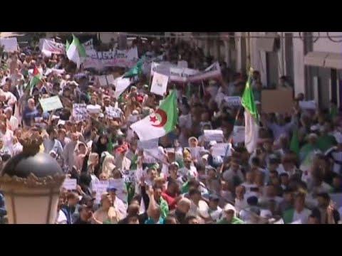 Algerien: Massenproteste gegen die Übergangsregierung Bensala