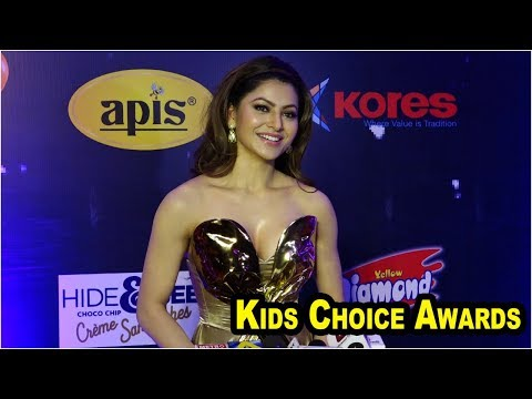 Beautiful Urvashi Rautela At Kids Choice Awards 2018