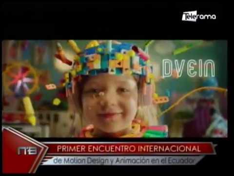 Primer encuentro internacional de Motion Design y Animación en el Ecuador