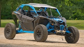 4. 2019 Can-Am Maverick X3 X rc Turbo R Walk Around & First Impressions