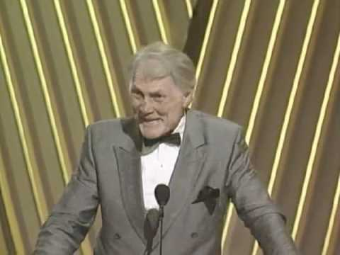 Palance - Jack Palance winning an Oscar® - Best Supporting Actor, City Slickers - 64th Annual Academy Awards®.