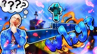Why Bedwars Players Place Blocks While They Are Running (Minecraft BEDWARS)