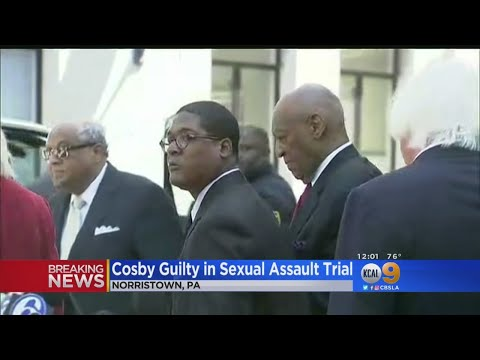 Bill Cosby Found Guilty On All Counts In Sex Assault Retrial