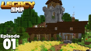 Legacy SMP : Episode 1 : A BRAND NEW WORLD! Minecraft 1.15 Survival Multiplayer