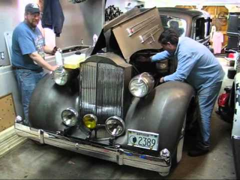 1935 Packard V-12 Barn Find Part II Tom Laferriere Classic Cars