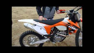 9. 2011 KTM 350xcf First Look