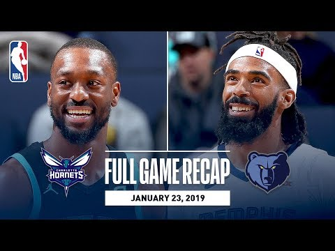 Video: Full Game Recap: Hornets vs Grizzlies | Gasol Records Triple-Double