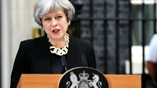 British Prime Minister Theresa May is vowing to form a new government despite losing her party's majority in parliament in this ...