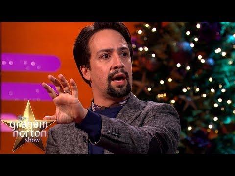Lin-Manuel Miranda Stuns Emily Blunt By Rapping 'My Shot' from Hamilton! | The Graham Norton Show