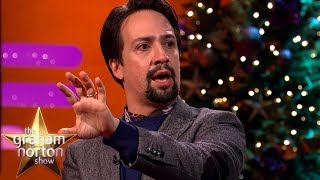 Video Lin-Manuel Miranda Stuns Emily Blunt By Rapping 'My Shot' from Hamilton! | The Graham Norton Show MP3, 3GP, MP4, WEBM, AVI, FLV Maret 2019