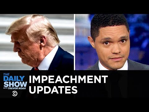 Trumps Potential Impeachment Snowballs  The Daily Show
