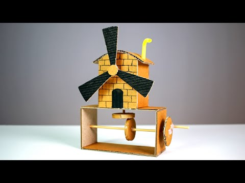 How to Make a Automata Toy From Cardboard