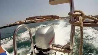 GoPro:Hero3+silver editionfast trip to blue lagoon comino (malta)speed boat verado marinerfun fun fun