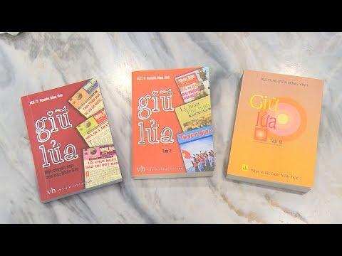 Nhà báo Nguyễn Hồng Vinh và cuốn sách