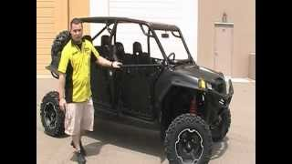 9. Custom Flat Black Phantom RZR 4 XP 900 Signature Series From RideNow Peoria