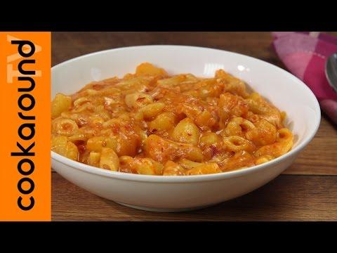 pasta patate 'nduja e caciocavallo - ricetta calabrese