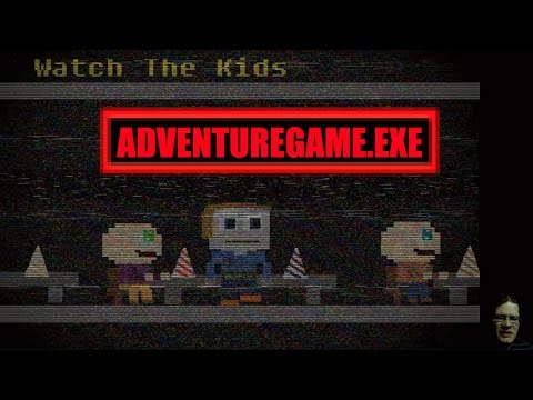 WARNING: BRIGHT FLASHING LIGHTS - Adventure Game.exe short horror game