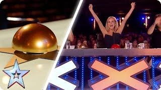 Video Amanda Holden's BEST GOLDEN BUZZERS | Britain's Got Talent MP3, 3GP, MP4, WEBM, AVI, FLV Agustus 2019