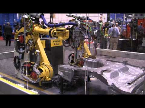 FANUC R-1000iA/100F Industrial Robot