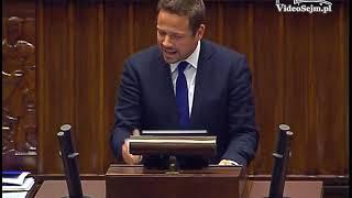 """Rafał Trzaskowski zawstydził Jarosława Kaczyńskiego: """"Odwagi panie prezesie"""""""