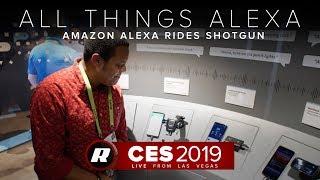 CES 2019: Amazon wants its Alexa tech to ride shotgun with you by Roadshow