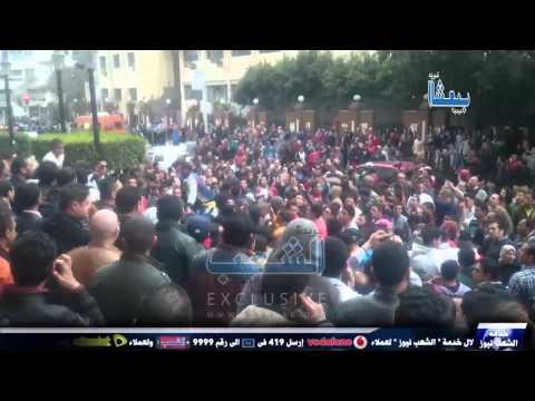 """الثوار من أمام نقابة الصحفيين: """"والله زمان وبعوده ليلة أبوكوا ليلة سودا"""""""