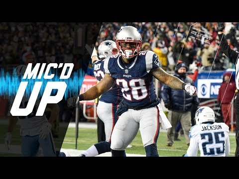 Video: Mic'd Up Titans vs. Patriots Divisional Round