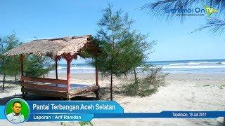 Pantai Terbangan Aceh Selatan