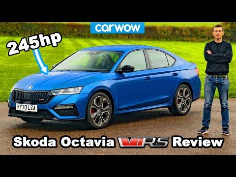 Skoda Octavia vRS review - better than a Golf GTI?