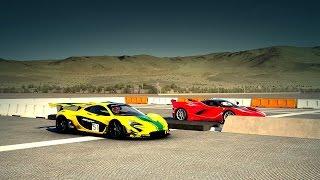 Nonton McLaren P1 GTR vs. Ferrari FXXK Drag Race   Forza 6 Film Subtitle Indonesia Streaming Movie Download