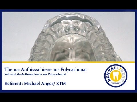 Dentaltechnik - Konventionelle Zahntechnik - FREE VIDEO - Aufbissschiene aus Polycarbonat