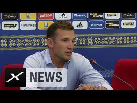 Andriy Shevchenko mit Fußball-Weisheit | Ukraine - Island | WM-Qualifikation